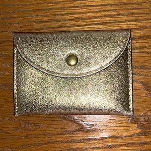 J. Crew Leather Card Case